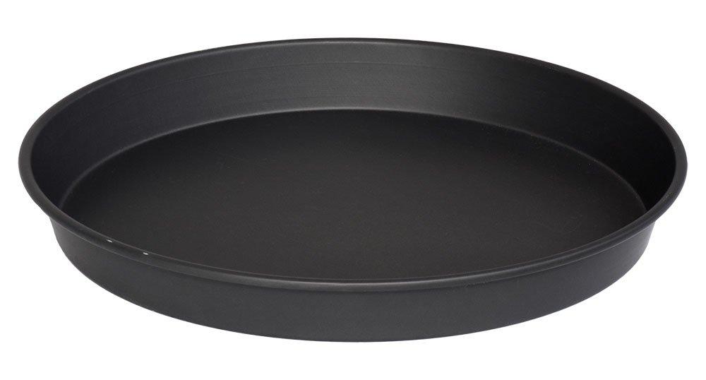 LloydPans 5 H76R-10X1.5-Pstk Deep Dish Pizza Pan, 10 Inch, Black
