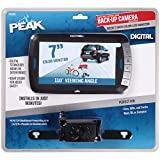 PEAK Digital Wireless Back-Up Camera, Color LCD Monitor, 7-inch