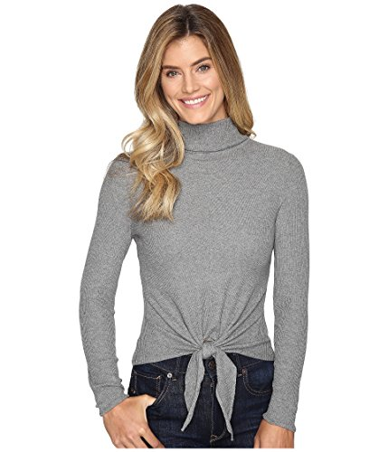 NIC+ZOE Women's All Tied Up Top Steel Grey (All Tied Up Top)