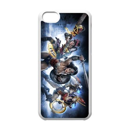 Q3S86 Infinite Crisis N9I8ET cas d'coque iPhone de téléphone cellulaire 5c couvercle coque blanche HY6XST2CG