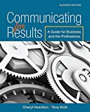 Communicating for Results: A Guide for Business and the Professions (MindTap Course List)