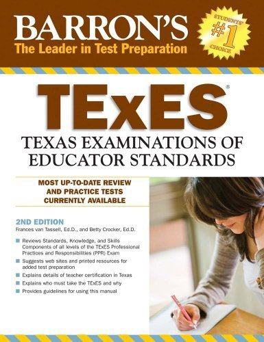 Barron's TExES by Frances van Tassell Ed.D. (2010-10-01)