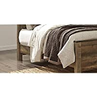 Signature Design by Ashley B446-97 Trinell Rustic Panel Bed, King