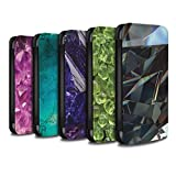 STUFF4 PU Leather Wallet Flip Case/Cover for Apple iPhone X/10 / Pack 19pcs Design / Birth/Gemstone Collection