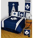 NHL Toronto Maple Leafs - 5pc BED IN A BAG - Boys Queen Bedding Set