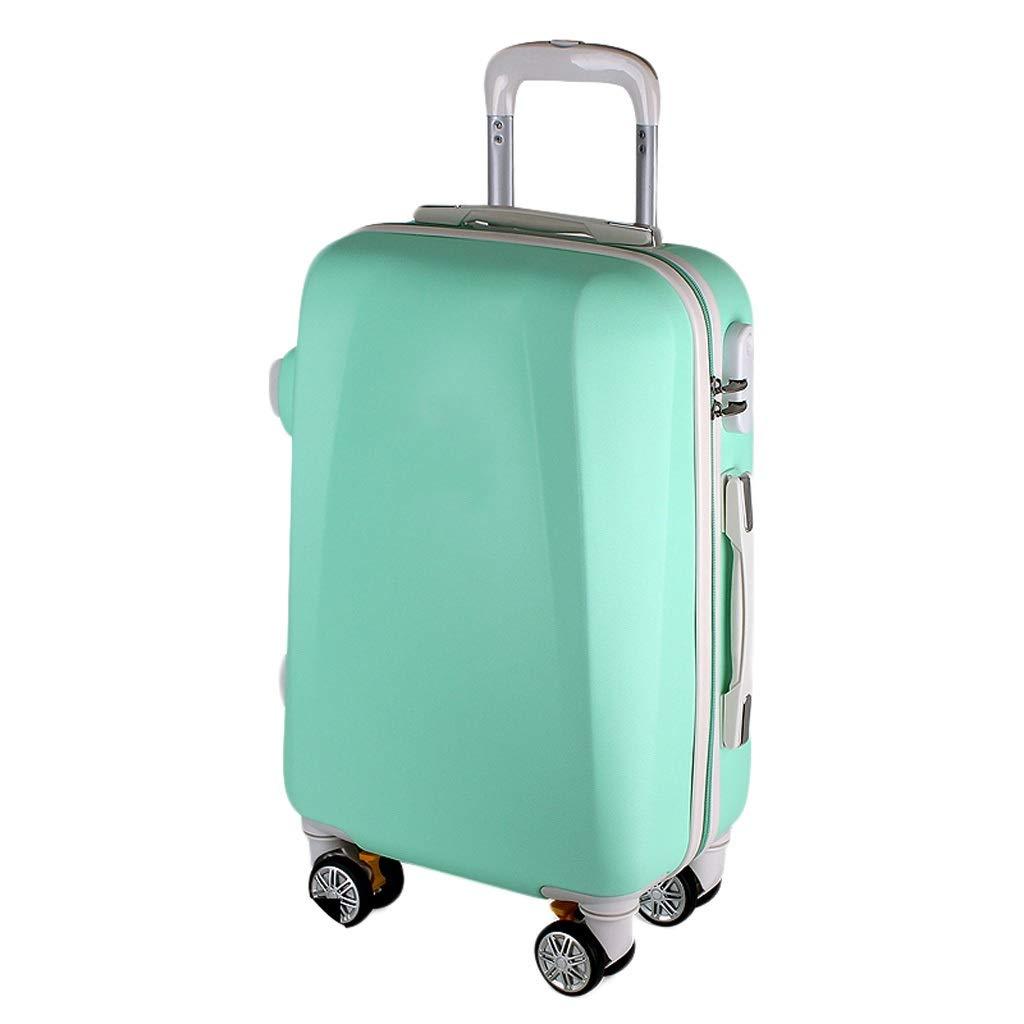 ZHAOSHUHLI スーツケーストロリーケース女性の化粧スーツケース男性の荷物ユニバーサルホイール結婚式セット潮パスワードバッグ (色 : 青, サイズ さいず : 24'') 24'' 青 B07R1LQX4X