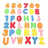 GGG 36Pcs Educational Alphanumeric Letters Bath Tub Puzzle Kids Funny Soft EVA Floating Play Toy
