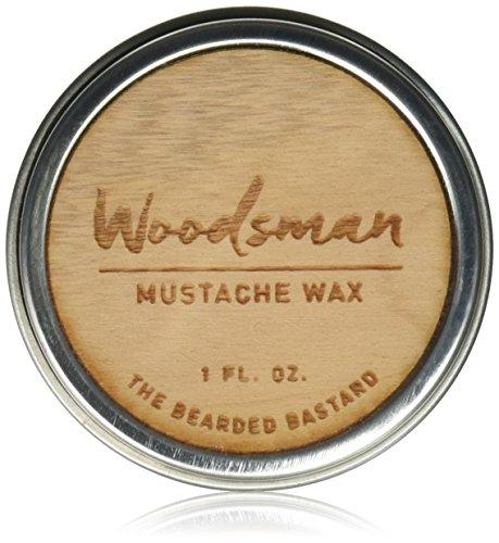 Woodsman Mustache Wax Bearded Bastard