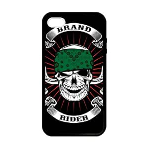 Skull Brand Rider Case for iPhone 5 5s case by lolosakes