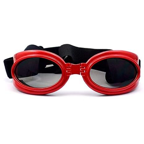 Simis Gafas de Sol portátiles, Mascotas Plegables Gafas de ...