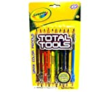 Crayola Total Tools Write Color Pencils - 10 Dual Ended Colored Pencils