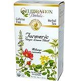 Celebration Herbals Turmeric Blend Organic 24 Tea Bag, 36Gm