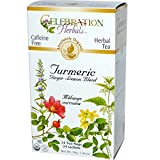 Celebration Herbals Organic Turmeric Ginger Lemon Blend, 24 Bags
