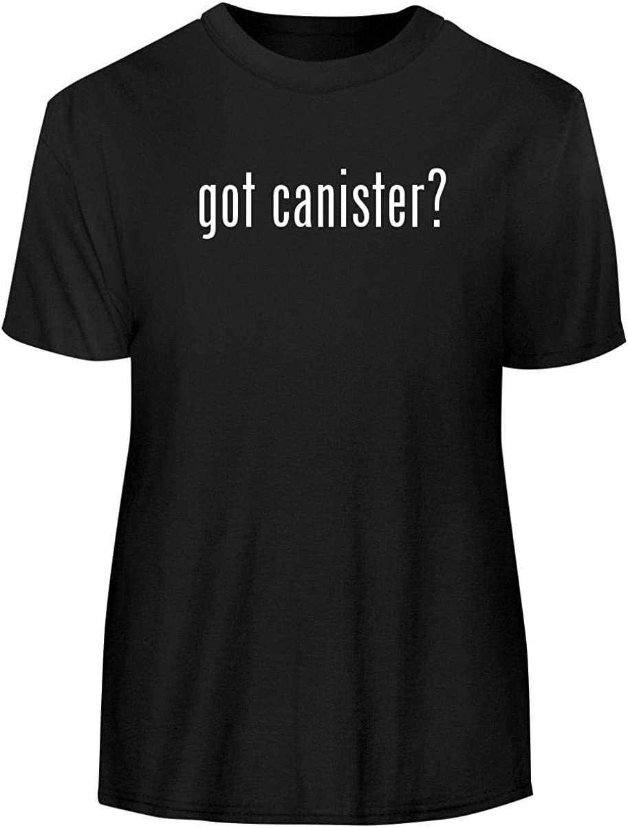 One Legging it Around got Canister? - Men's Funny Soft Adult Tee T-Shirt