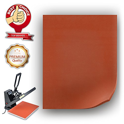 Heat Press Mat -12X15 inches, Flat Heat Press Replacement Heat Resistant Extra Thick Silicone Pad by unuaST