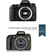Canon EOS Rebel T6s Digital SLR (Body Only) - Wi-Fi Enabled w/ Fast Start Course