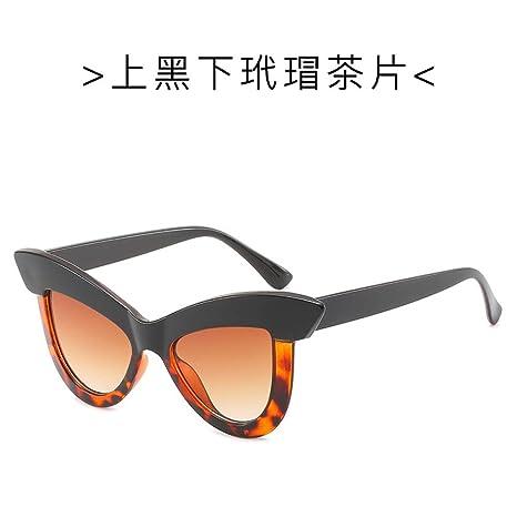 Yangjing-hl Gafas de Sol de Ojo de Gato Europeas y ...