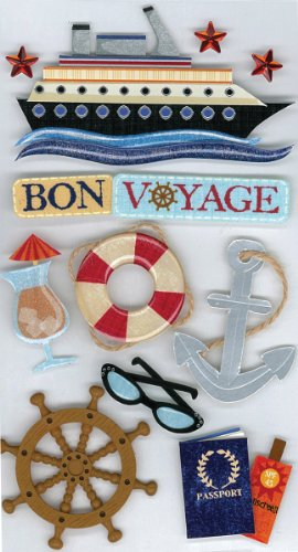 Jolee's Boutique Bon Voyage Dimensional Stickers
