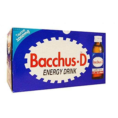 bacchus D korean soft drink