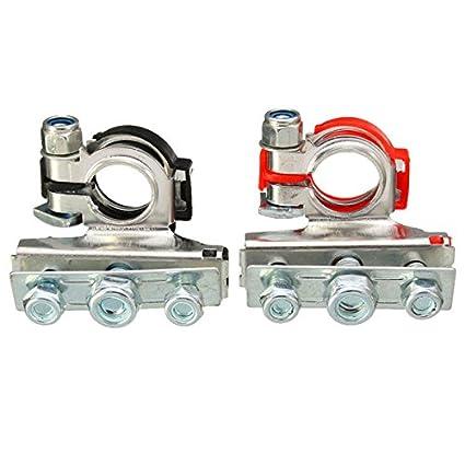 Amazon.com: Winnerbe 2pcs Automotive Car Top Post Battery Terminals ...