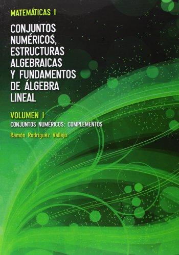 Descargar Libro Matemáticas I. Conjuntos Numéricos - Volumen I Ramón Rodríguez Vallejo