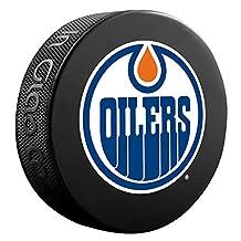 Edmonton Oilers Basic Logo Souvenir Hockey Puck
