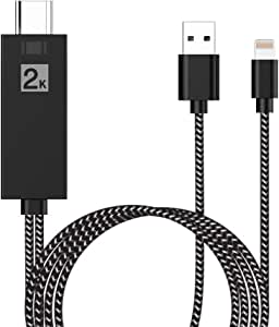 Cable HDMI para Teléfono, Adaptador HDMI 1080P HD Digital AV ...