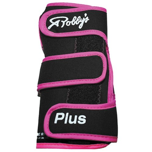 Robby's Coolmax Plus Right Wrist Support, Black/Pink, Small by Robby's