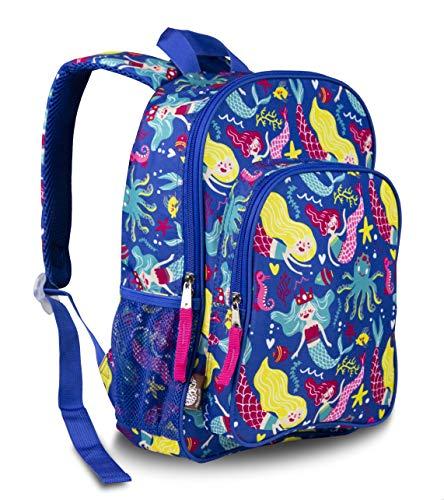 LONECONE Kids Preschool Backpack for Boys and Girls, School of Mermaids