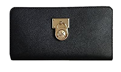 Michael Kors Hamilton Traveler Large Zip Around Cluch Wallet