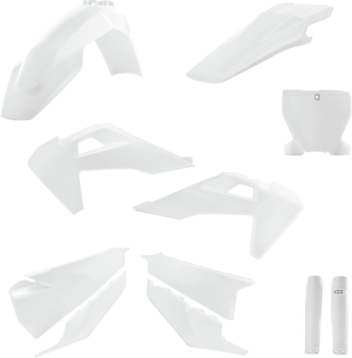 Acerbis Full Plastic Kit WHITE 19 HUSQVARNA FC450HQ