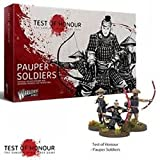 Warlord Games Test of Honour - Samurai Miniatures Game - Pauper Soldiers (11) (28mm)