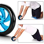 TOMSHOO-5-in-1-Fitness-Workout-Set-AB-Wheel-Roller-Addominali-2-Maniglie-per-Flessioni-Corda-per-Saltare-Pinza-Mano-Tappetino-Fitness-per-UomoDonna-Fitness