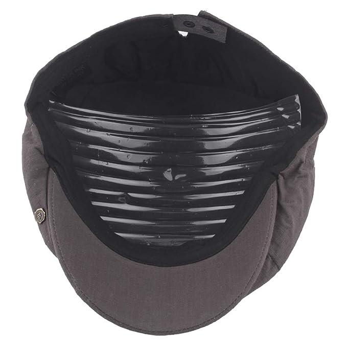 ToVii Sombrero Boina de Punto Oto/ño Invierno Estilo Newsboy Hat Gorra de Vendedor de Peri/ódicos Beret de Tejer Casual para Hombre Mujer Unisex