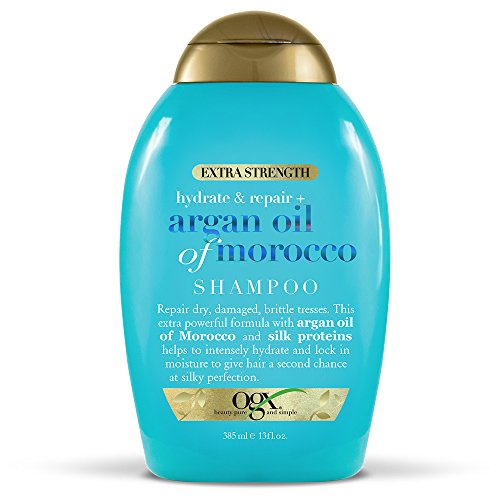 OGX Renewing + Argan Oil of Morocco Shampoo, 13 Ounce (Organix Moroccan Argan Oil On Natural Hair)