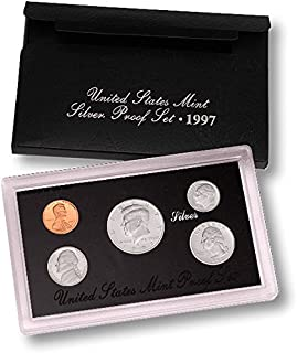1997 S United States Mint Silver Proof Set Proof