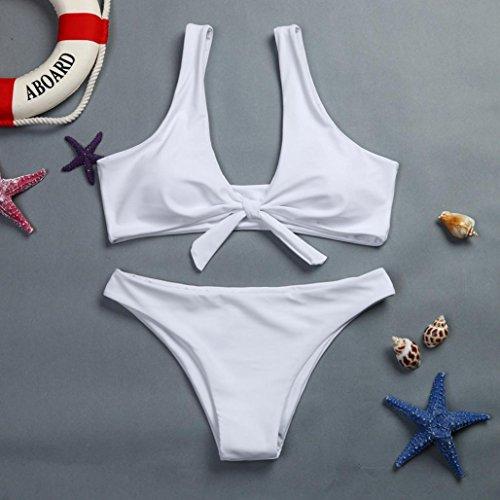 Traje Blanco Acolchado Sexy Push baño Mujer bañador brasileño Bikinis Mujer Sujetador Traje Bikinis RETUROM up Mujeres Biquinis Baño de De Atractivo Mujer De natación de qxWaFSO