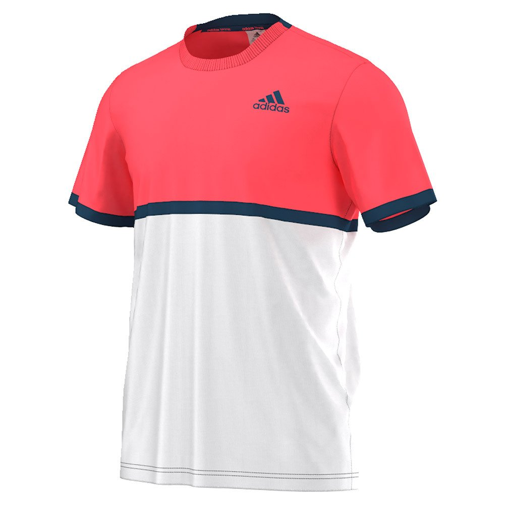 adidas Men's Tennis Court Tee, XX-Large, White adidas Inline Apparel Child Code (Sports Apparel S1607M607
