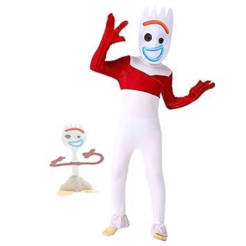 hengGuKeJiYo Toy Forky Cosplay Disfraz Niño Mono Trajes Máscara ...