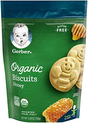 Baby & Toddler Snacks: Gerber Organic Biscuits