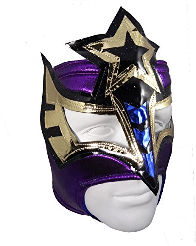 SEXY STAR Adult Female Lucha Libre Wrestling Mask (pro-fit) Costume Wear - (Adult Sexy Star)