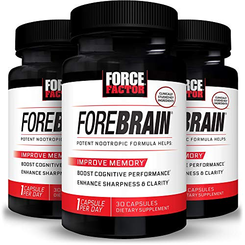 Force Factor Forebrain 30ct 3-Pack, 90 Count
