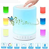 Best Color Touches - Bedside Lamp Bluetooth Night Light Speaker Lonchan Touch Review