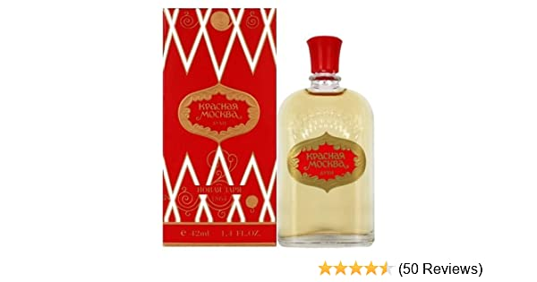 Amazon.com : Krasnaya Moskva Perfume aka Red Moscow or Moscou Rouge 42 ml/1.4 fl oz by Novaya Zarya : Beauty