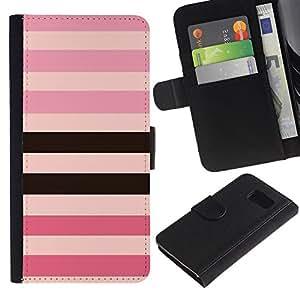 All Phone Most Case / Oferta Especial Cáscara Funda de cuero Monedero Cubierta de proteccion Caso / Wallet Case for Sony Xperia Z3 Compact // línea modelo rosa iguales negro púrpura