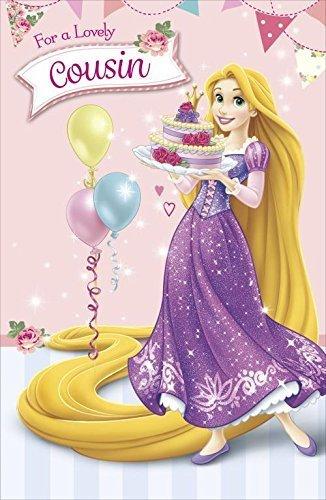 Amazon disney princess tangles cousin birthday greeting card disney princess tangles cousin birthday greeting card rapunzel girl m4hsunfo