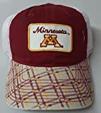 New! Minnesota Golden Gophers Embroidered Adjustable Buckle Mesh Cap