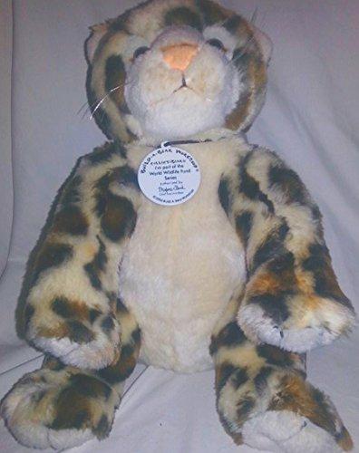 Snow Leopard Cub Plush Stuffed Animal WWF Build-a-Bear 13