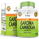 Garcinia Cambogia Pure Extract Supplement, 80% HCA, Best Weight Loss Pill for Women & Men, TV Dr Recommended, Natural Appetite Suppressant, Fat Blocker, Works Fast, Top Amazon Reviews, 180 Capsules