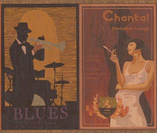 Retro 50s 60s 70s Posters Wallpaper Border Vintage Design, Roll 15' x 9'' (70s Retro Wallpaper)